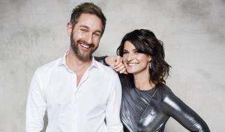 """""""Dancing on Ice 2019""""-Moderatoren: Daniel Boschmann und Marlene Lufen führen durch die Show. (Foto)"""