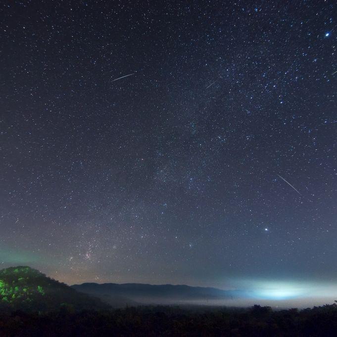 Diese Sternschnuppen-Nächte werden galaktisch (Foto)