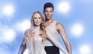 "Jenny Elvers tritt trotz Rippenbruchs bei ""Dancing on Ice"" an. (Foto)"