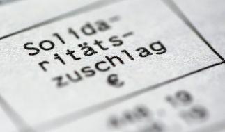 Die meisten Bundesbürger müssen ab 2021 keinen Solidaritätszuschlag mehr zahlen. (Foto)