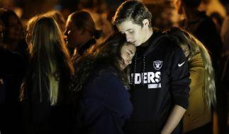 Im kalifornischen Santa Clarita hat ein Schüler der Valencia High School zwei Mitschüler erschossen. (Foto)