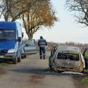 Mann fackelt Frau (45)Auto ab! Sind Scheidungsprobleme schuld? (Foto)