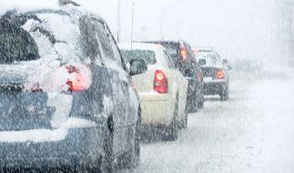 In der neuen Woche droht einigen Regionen Schnee. (Foto)