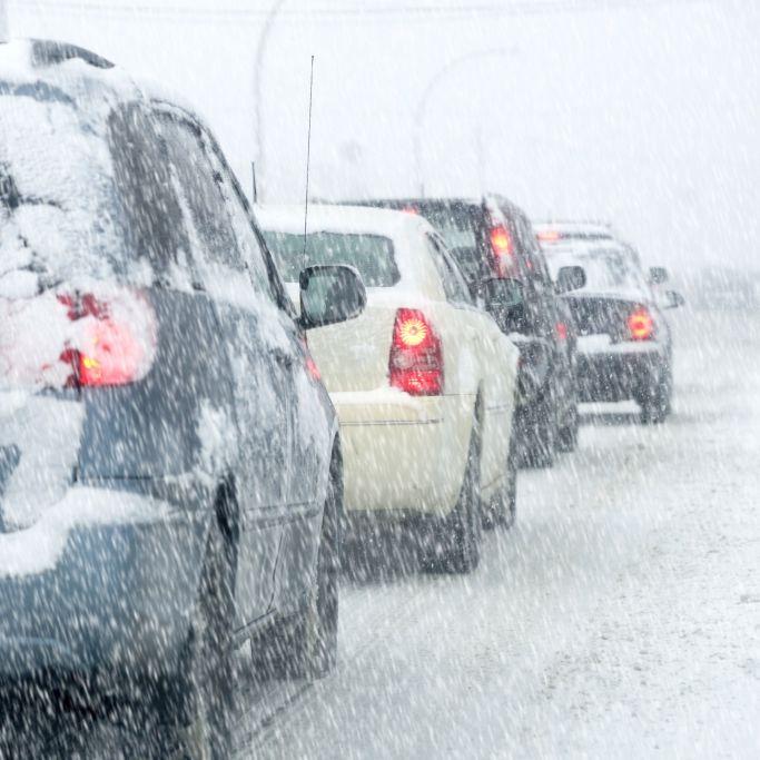 Schnee-Alarm! HIER droht zum Wochenstart Chaos (Foto)