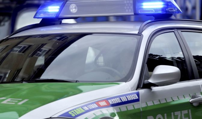 Raserunfall in München