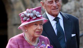 Queen Elizabeth II. und ihr Mann Prinz Philip. (Foto)