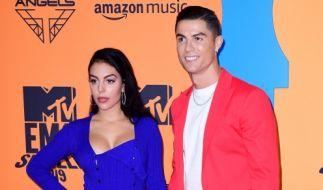 Cristiano Ronaldo soll seine Freundin Georgina heimlich geheiratet haben. (Foto)