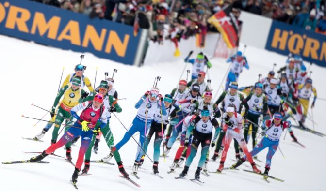 Biathlon Weltcup 2019/20 in Pokljuka