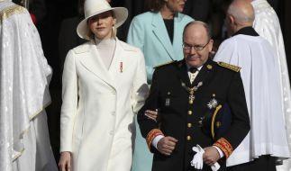Ist Fürstin Charlène von Monaco etwa schwanger. (Foto)