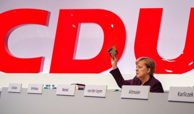 CDU-Parteitag in Leipzig