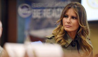 Muss sich Melania Trump für die Öffentlichkeit verstellen? (Foto)