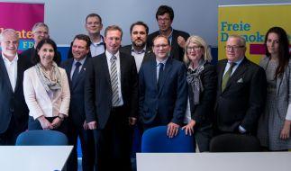 FDP-Politiker Jimmy Schulz (4.v.l.) ist tot. (Foto)