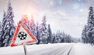 Wintereinbruch in Deutschland. (Foto)