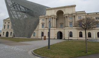 Die Bundeswehr hat sich mit einem Bild aus dem Militärhistorischen Museum in Dresden blamiert. (Foto)
