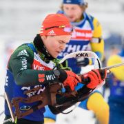 Beim Saisonauftakt des Biathlon Weltcups 2018/19 in Pokljuka feierte der Frankenhainer sein Weltcup-Debüt.
