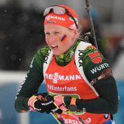 Im Gesamtweltcup 2015 wurde Franziska Hildebrand zur besten deutschen Biathletin gekührt und holte sich den Weltcupsieg.