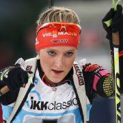 Anna Weidel gab beim Biathlon-Saison-Auftakt 2019 ihr Weltcup-Debüt.