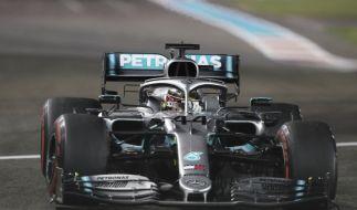 Hamilton sichert sich letzte Pole der Formel-1-Saison (Foto)