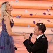Das gab's noch nie! Heiratsantrag bei Florian Silbereisen! (Foto)