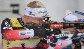 Der Biathlon-Weltcup 2019/2020 gastiert vom 23. bis 26. Januar in Pokljuka. (Foto)