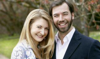 Ein Bild aus dem Jahr 2012 zeigtStéphanie und Guillaume von Luxemburg. (Foto)