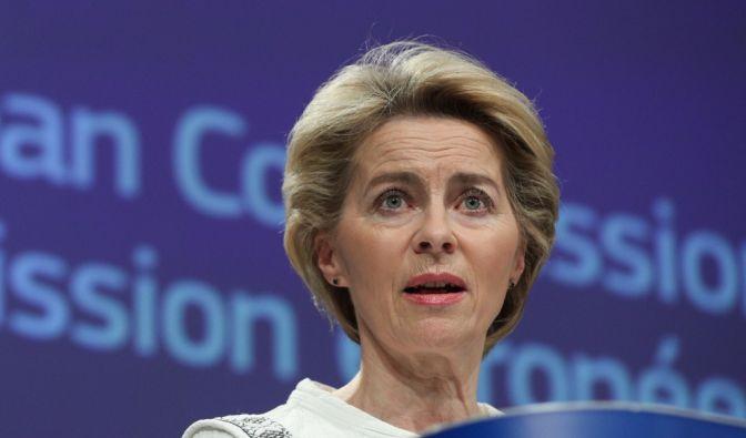 Ursula von der Leyens erste Amtshandlung