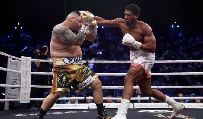 Anthony Joshua vs. Andy Ruiz 2 als Wiederholung