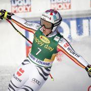 Ski-Ass Rebensburg gewinnt Super-G in Lake Louise (Foto)