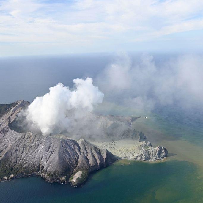 White Island - Freitag Bergung der 8 möglichen Todesopfer (Foto)