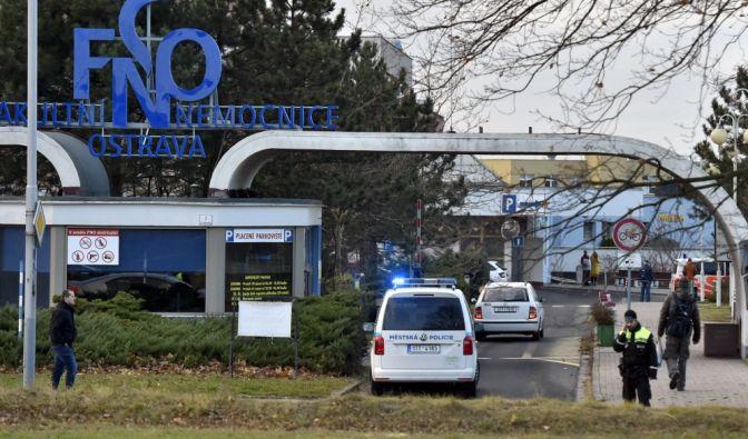 Schießerei in Krankenhaus in Tschechien