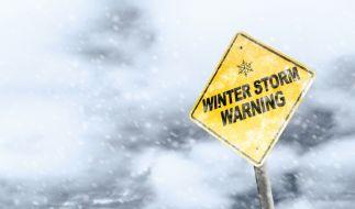 Ein Wintersturm bedroht einige Regionen Nordeuropas. (Foto)