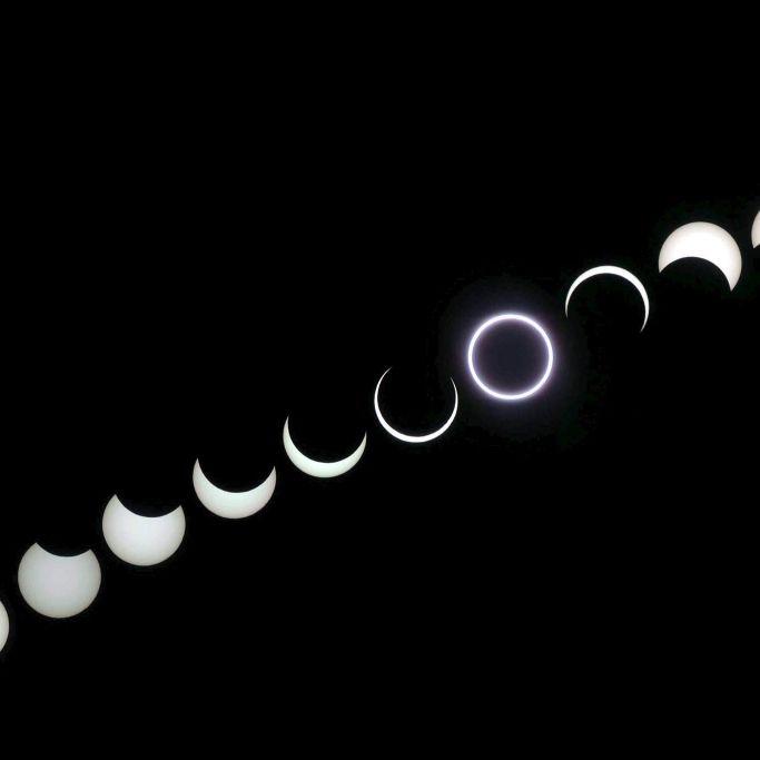 HIER können Sie die ringförmige SoFi beobachten (Foto)