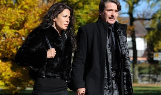 Pascal Breuer und Loredana La Rocca. (Foto)