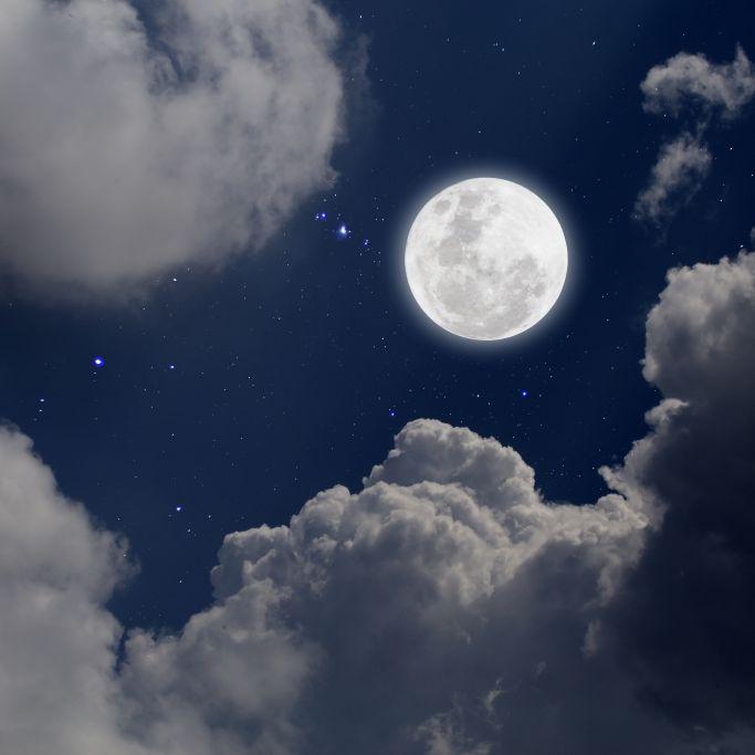 Längste Vollmond-Nacht des Jahres! HIER gibt's denFrostmond zu sehen (Foto)