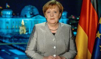 Auch 2019 wird sich Bundeskanzlerin Angela Merkel in ihrer traditionellen Neujahrsansprache äußern. (Foto)