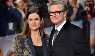Schauspieler Colin Firth und seine Ehefrau Livia gehen nach 22 Jahren Ehe getrennte Wege. (Foto)