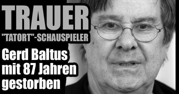 Gerd Baltus Todesursache