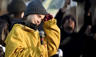 Greta Thunberg ist aus dem Heimweg. (Foto)
