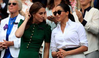 Der Zoff zwischen Kate Middleton und Meghan Markle eskaliert. (Foto)