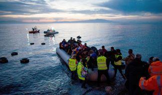 Immer mehr Migranten reisen illegal von der Türkei nach Europa ein. (Foto)