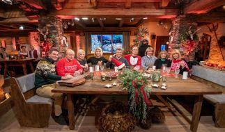Von links: Andreas Erber, Alfons Schubeck, Carmen Nebel, Beatrice Egli, Andy Borg, Wolfgang Lippert, Hansi Hinterseer, Wencke Myhre, Lena Valaitis. (Foto)