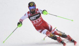 Im Ski-alpin-Weltcup 2019/20 der Herren steht am 05.01.2020 in Zagreb (Kroatien) der Slalom auf dem Programm. (Foto)