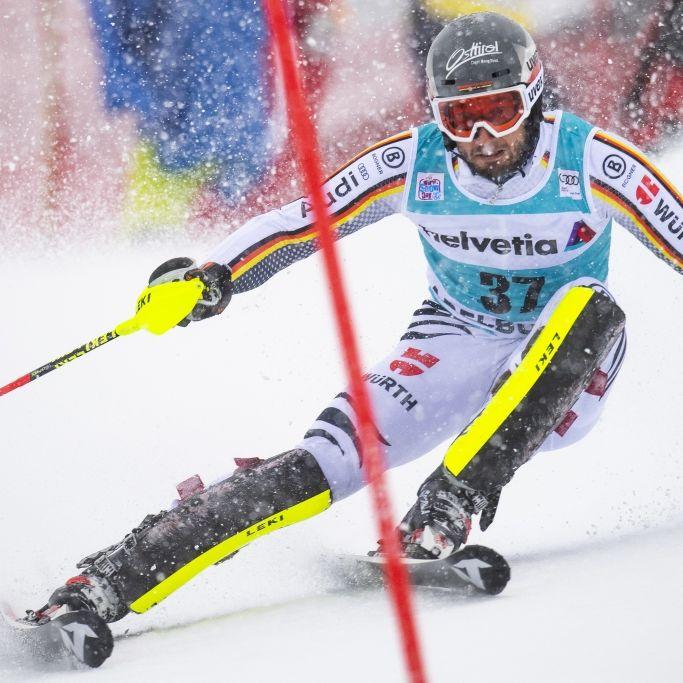 Linus Straßer im Herren-Slalom in Adelboden auf Platz 6 (Foto)