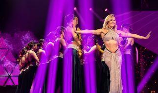 Helene Fischer zeigt sich bei einer sexy Bauchtanz-Einlage in Bestform. (Foto)