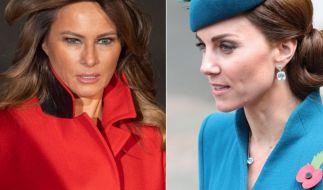 Eine US-Moderatorin hat Melania Trump und Kate Middleton verglichen. (Foto)