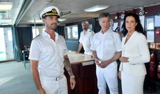 """Florian Silbereisen in seiner Rolle als """"Traumschiff""""-Kapitän Max Parger. (Foto)"""