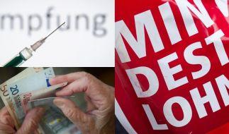 Im Jahr 2020 treten zahlreiche neue Gesetze, unter anderem zu Mindestlohn, Masern-Impfpflicht und Rente, in Kraft. (Foto)