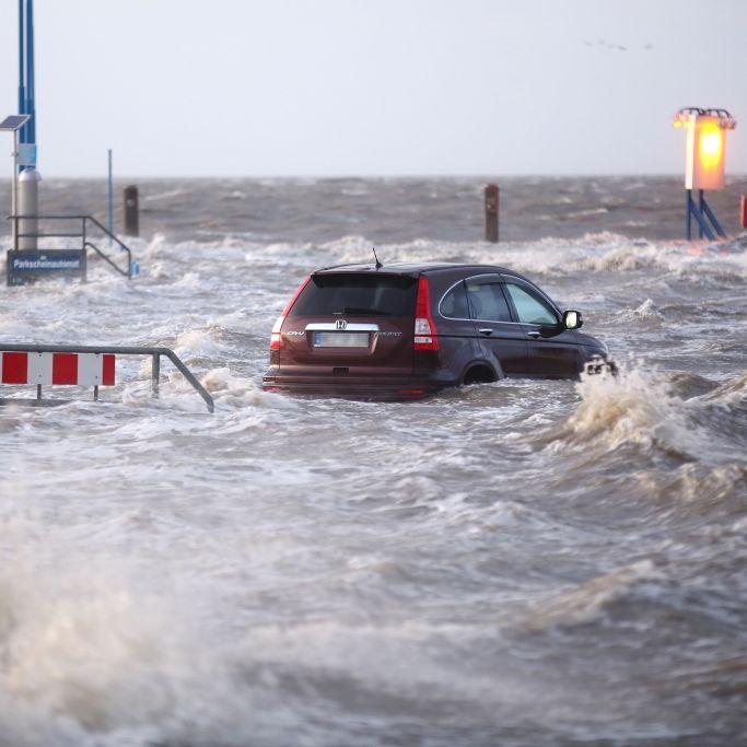 Mehrere Tote nach Sturm-Horror, Starkregen,Schnee und Hochwasser (Foto)