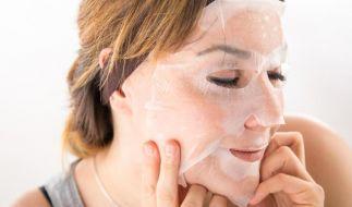 Tuchmasken sind noch recht neu auf dem Markt - und sehr beliebt. (Foto)