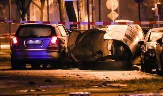 Nach einem Verkehrsunfall ist ein 32-jähriger Autofahrer in Stuttgart von der Polizei erschossen worden. (Foto)